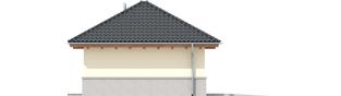 Projekt domu Garaż G18 - elewacja lewa