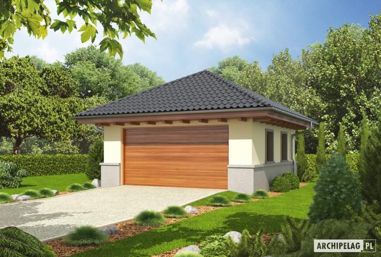 Projekt domu Garaż G18 -
