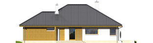 Projekt domu Glen G1 - elewacja prawa