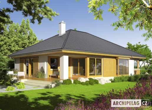 Projekt rodinného domu - Glen G1