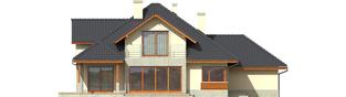 Projekt domu Naomi G2 - elewacja tylna