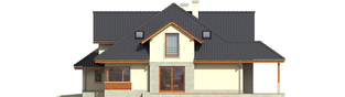 Projekt domu Naomi G2 - elewacja prawa