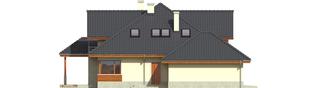 Projekt domu Naomi G2 - elewacja lewa