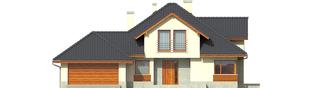 Projekt domu Naomi G2 - elewacja frontowa