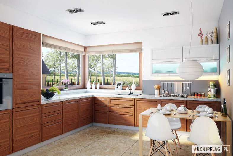 Projekt domu Naomi G2 - wizualizacja kuchnia