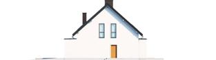 Projekt domu Zuzanna G2 - elewacja prawa