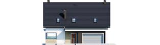 Projekt domu Zuzanna G2 - elewacja frontowa