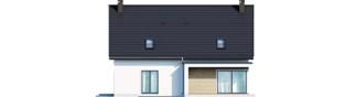 Projekt domu Zuzanna G2 - elewacja tylna
