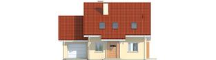 Projekt domu Morena G1 - elewacja frontowa