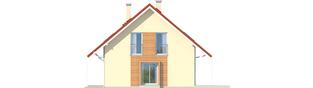Projekt domu Morena G1 - elewacja prawa