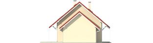 Projekt domu Morena G1 - elewacja lewa