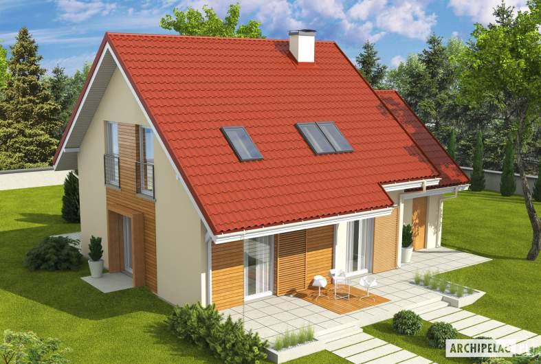 Projekt domu Morena G1 - widok z góry