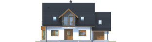 Projekt domu Marisa V G1 ENERGO - elewacja frontowa