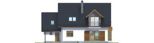 Projekt domu Marisa V G1 ENERGO - elewacja tylna