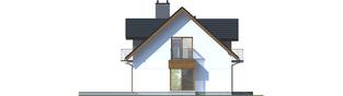 Projekt domu Marisa V G1 ENERGO - elewacja lewa