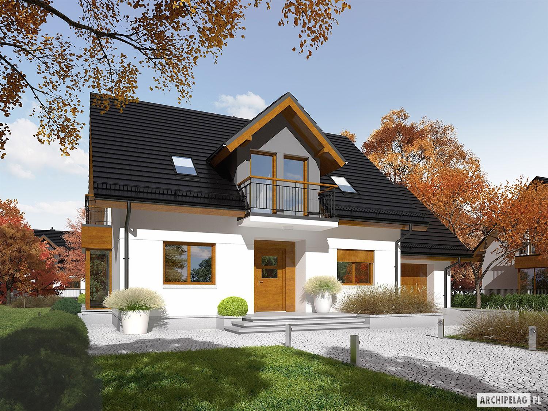 Marisa V G1 ENERGO - projekt domu - Archipelag