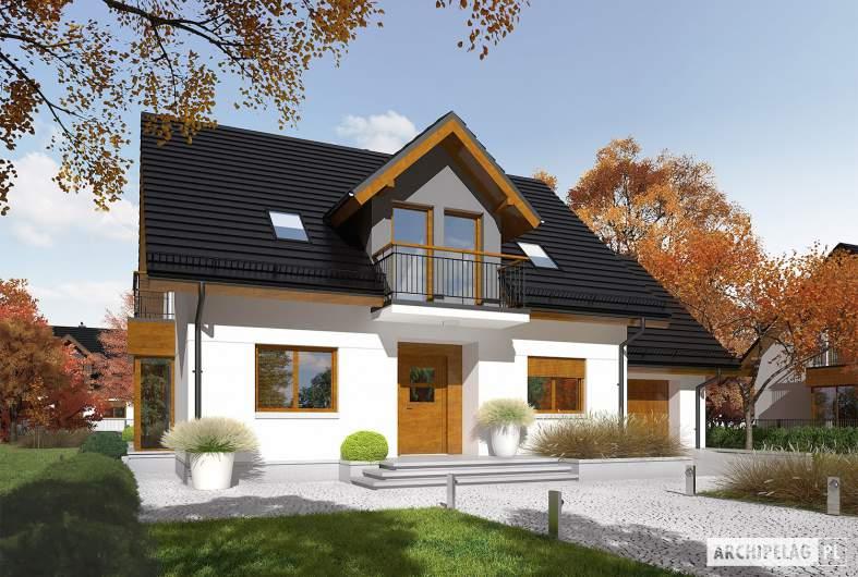 Projekt domu Marisa V G1 ENERGO - Projekty domów ARCHIPELAG - Marisa V G1 ENERGO - wizualizacja frontowa