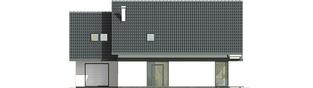 Projekt domu Rocco G1 - elewacja frontowa