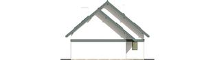 Projekt domu Rocco G1 - elewacja lewa