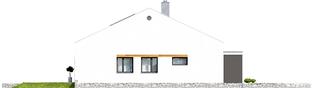 Projekt domu Ralf G1 - elewacja prawa