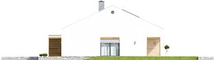 Projekt domu Ralf G1 - elewacja lewa