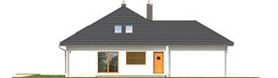 Projekt domu Marcel G2 - elewacja lewa