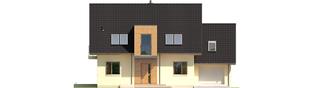 Projekt domu E5 G1 ECONOMIC (wersja A) - elewacja frontowa