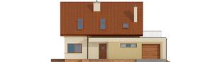 Projekt domu Santiago II G1 ENERGO - elewacja frontowa