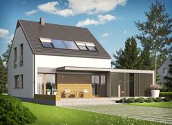 Projekt E8 (z wiatą) ENERGO PLUS