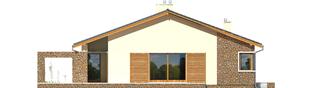 Projekt domu Bob II G1 - elewacja lewa