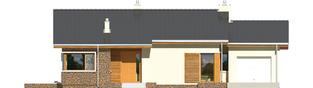 Projekt domu Bob II G1 - elewacja frontowa
