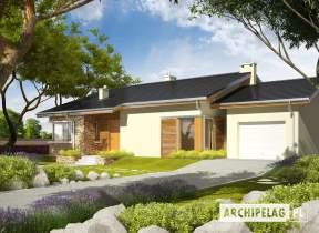 Projekt domu Bob II G1 - animacja projektu