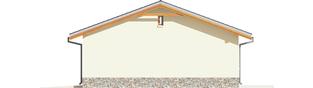 Projekt domu Garaż G29 - elewacja prawa