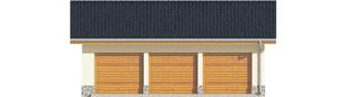 Projekt domu Garaż G29 - elewacja frontowa