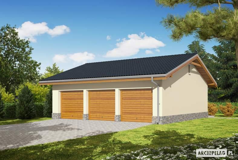 Projekt domu Garaż G29 -
