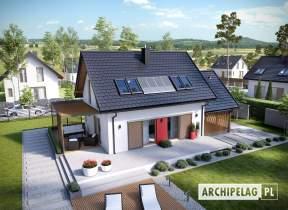 Projekt domu Lea II (z wiatą) - animacja projektu