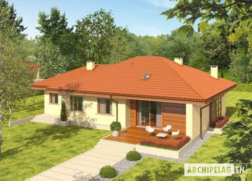House plan - Francis II G1 ECONOMIC B