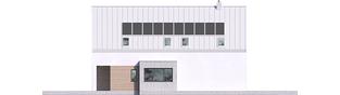 Projekt domu Riko IV G2 ENERGO PLUS - elewacja prawa