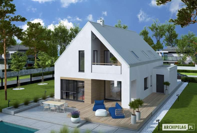 Projekt domu Riko IV G2 ENERGO PLUS - widok z góry