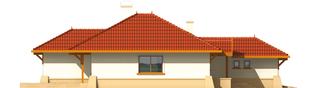 Projekt domu Lora G1 - elewacja lewa