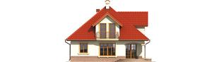 Projekt domu Aja G1 - elewacja prawa