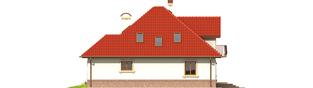 Projekt domu Aja G1 - elewacja tylna