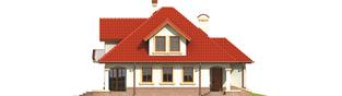 Projekt domu Aja G1 - elewacja lewa