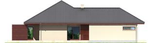 Projekt domu Dylan G2 - elewacja lewa