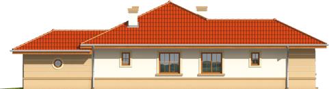 Kleo G1 - Projekt domu Kleo G1 - elewacja prawa