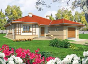 Projekty rodinných domů: Přízemní rodinné domy