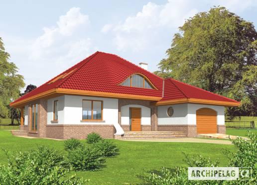 Projekt rodinného domu - Jacek (v. I)