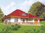 Projekt rodinného domu: Jacek (v. I)