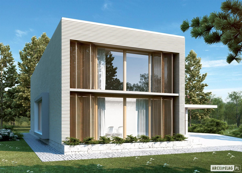 Romek ii z wiat projekt domu archipelag for Case moderne e strette