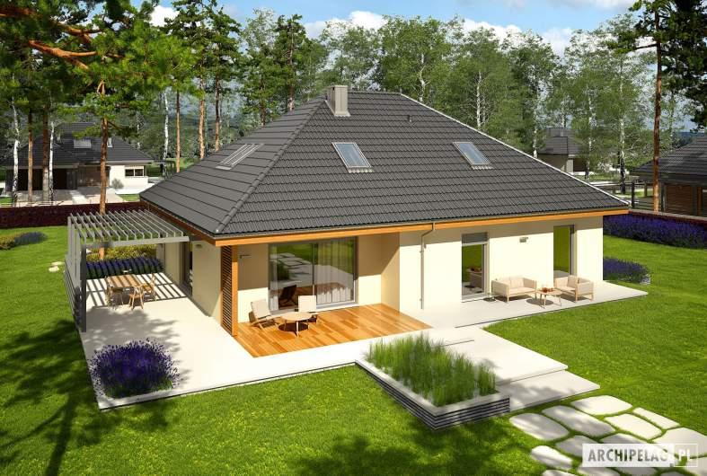 Projekt domu Astrid III G2 - Projekty domów ARCHIPELAG - Astrid III G2 - widok z góry